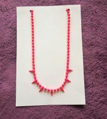 ❗️ RASPRODAJA ❗️  Ružičasta ogrlica