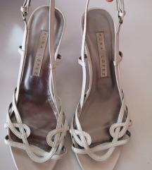 Pura Lopez bijele sandale 40