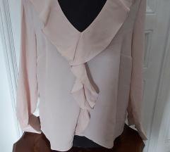 H&M puder roza bluza 40