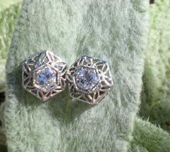 Antikne dijamantne nausnice