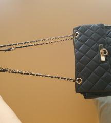 DKNY torba prava koža