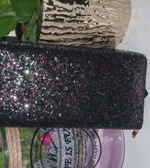 Novo crni glitter novčanik