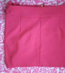 Crvena mini suknja vel.M