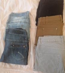 LOT hlače i poklon dvoje traperice