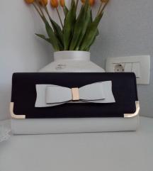 Nova Aldo torbica bijelo-crna