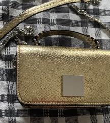 Zlatna torbica Zara
