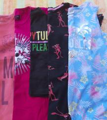 Lot 14 majica kratkih rukava za djevojčice