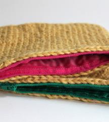 Dvije kozmetičke torbice - ručni rad