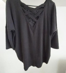 basic crna majica M reserved