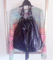 Lot bluza i velika lak nova torba