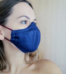 Maska Medium Blue COVER troslojna ŽENSKA