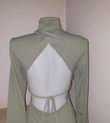 NOVA haljina, gola ledja