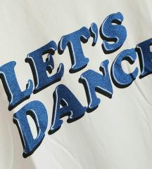 MANGO let's dance glitter majica :)