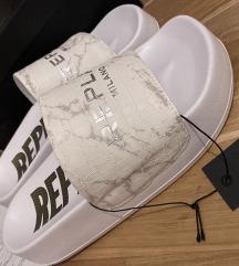 Nove Replay bijele papuče DO UTORKA 319kn