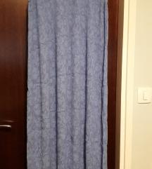 Sivo-plava haljina bez rukava 46