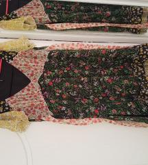 Mango patchwork haljina (Tisak uključen)