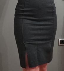 Mango suit -poslovna siva suknja XS/S