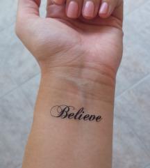 Privremena tetovaža - ukras za tijelo :)