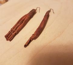Naušnice cimetni štapići
