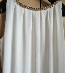 Jednostavna bijela haljina