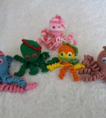 Handmade octopus-mali