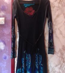 Desigual midi haljina  M