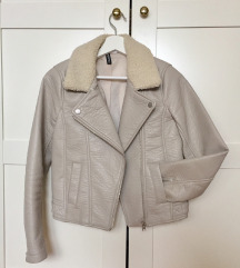 H&M vegan leather jakna