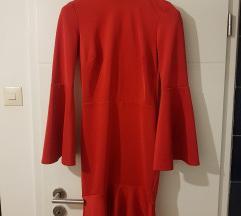 NOVA Asos crvena haljina otvorenih leđa