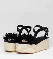 Sandale espadrile, vel. 37