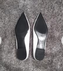 Mango bijele balerinke/cipele u špic NOVO