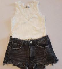 LOT Zara kratke hlače i top SALE