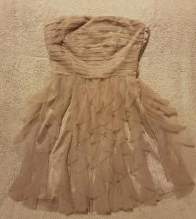 Orsay haljina saten/til/volani 38/M