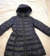 Dječija ženska strukirana zimska jakna