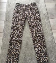 NOVE H&M hlače s leopard uzorkom