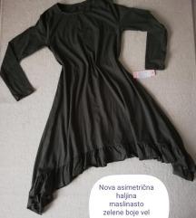 Nova asimetrična tunika-haljina