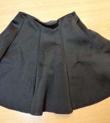 Crna ženska suknja