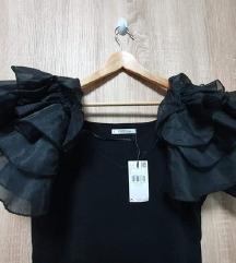 Nova Mango Violeta haljina s puf rukavima-etiketa