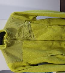 Zelena flis jakna