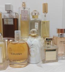 Dekantiram originalne parfeme (10 ml) 3+1 GRATIS