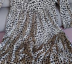 Nova duga haljina leopard uzorka