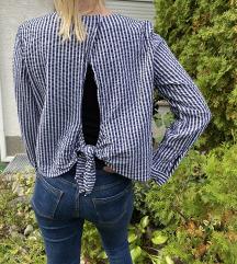 H&M krep košulja na pruge