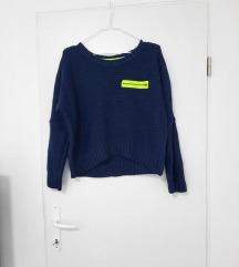 Plavi pulover za M vel