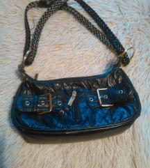 Zip kožna torbica double belt
