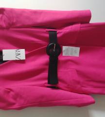 Zara sako haljina Fuksija pink