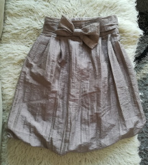 Suknja s mašnom