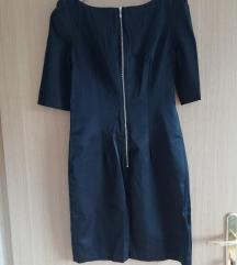 Crna haljina 3/4 rukava