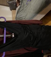 Orsay crna uska haljina