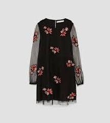 Zara haljina sa tilom