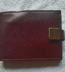 Vintage novčanik kožni
