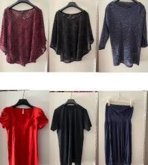 Lot bluze+ haljina -> 50 kn